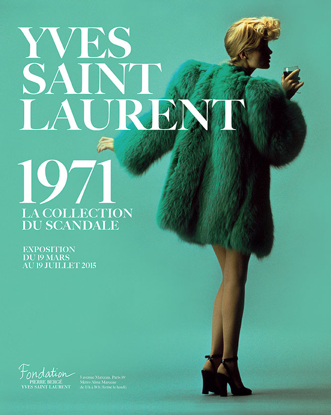 YVES SAINT-LAURENT 1971: LA COLLECTION DU SCANDALE